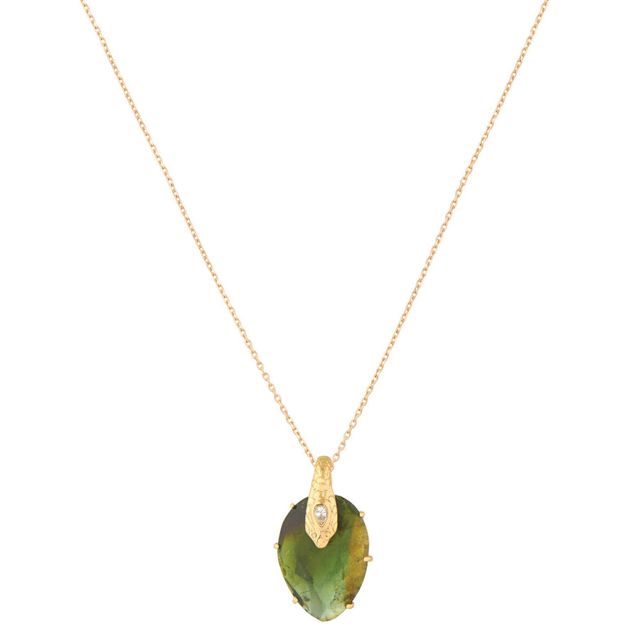 Collier Serpent Tourmaline Vert - Céline D'Aoust - Colliers pour femme - Mad Lords