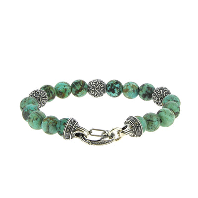 Bracelet Bead turquoise - William Henry - Bracelets pour homme - Mad Lords