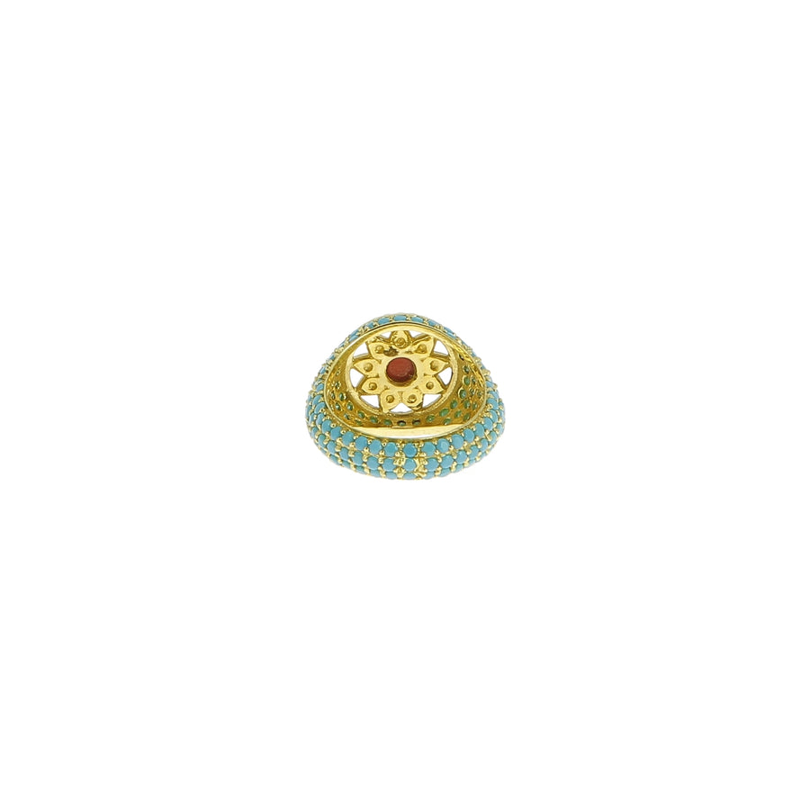 Bague arabesque pinky