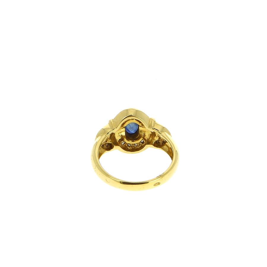Bague Saphir Ovale - Mad Lords Vintage - Bagues pour femme - Mad Lords