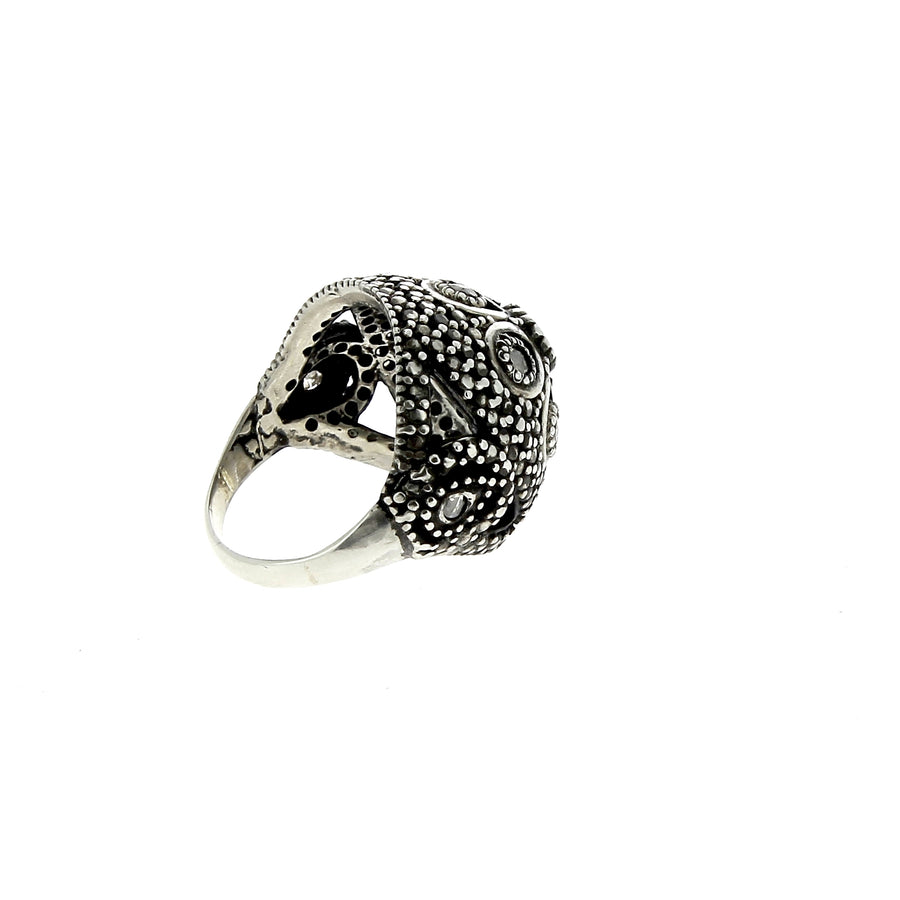 Bague Barnacle avec diamants