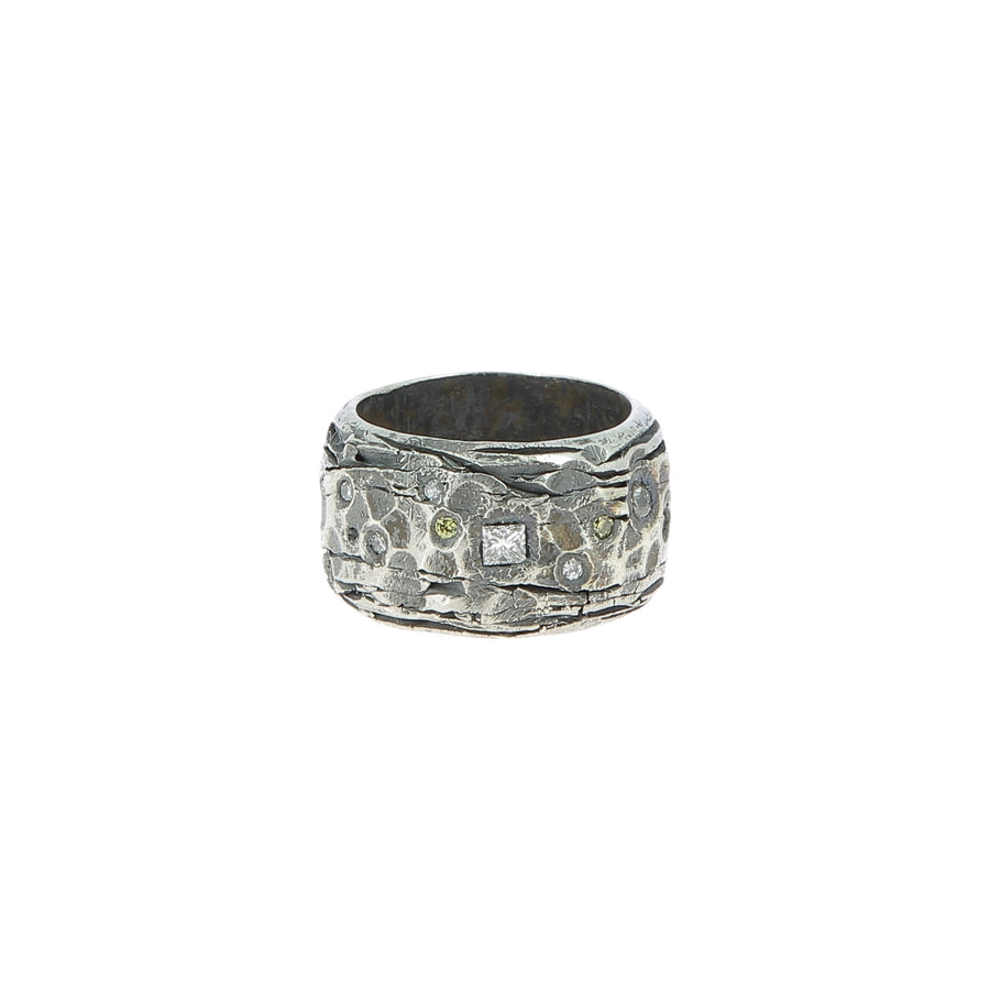 Bague Diamants&Argent