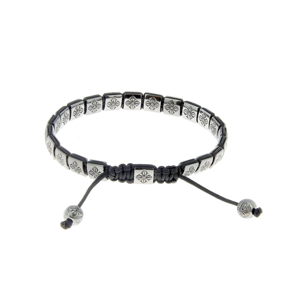 Bracelet Pavé Diamants Noirs