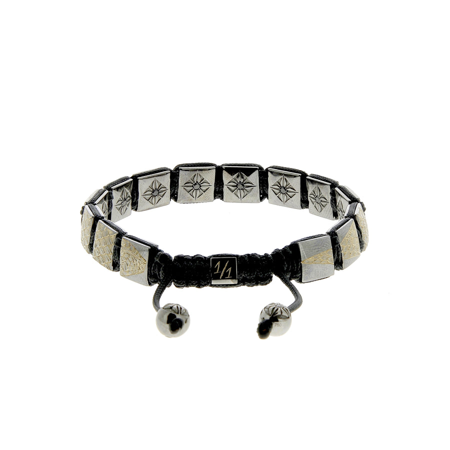 Bracelet Black Diamonds Special Engraving