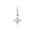 Boucle d'oreille Delight and Star Or Blanc