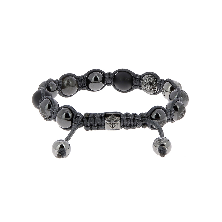 Bracelet black diamonds and more