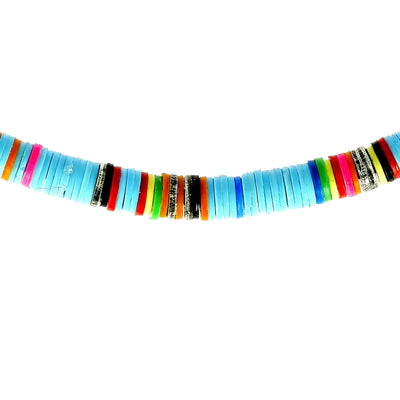 Bracelet Light Blue Neon African
