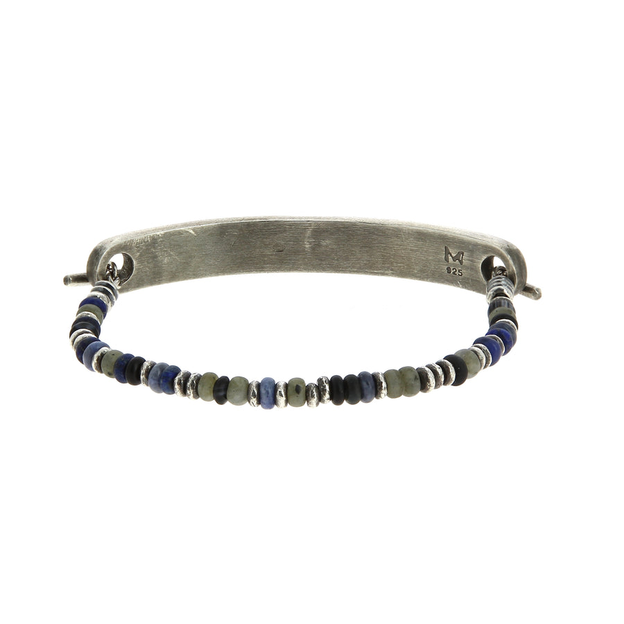 Bracelet Medium Top Bar Multicolore