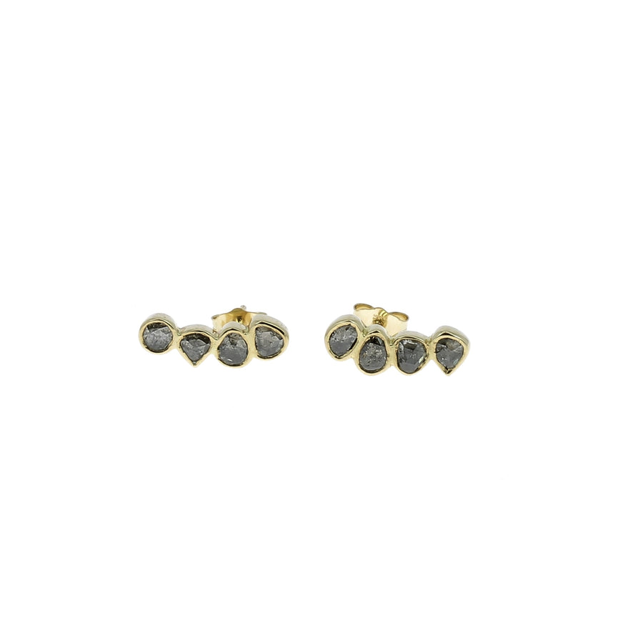 Boucle d'oreille Grey Diamonds