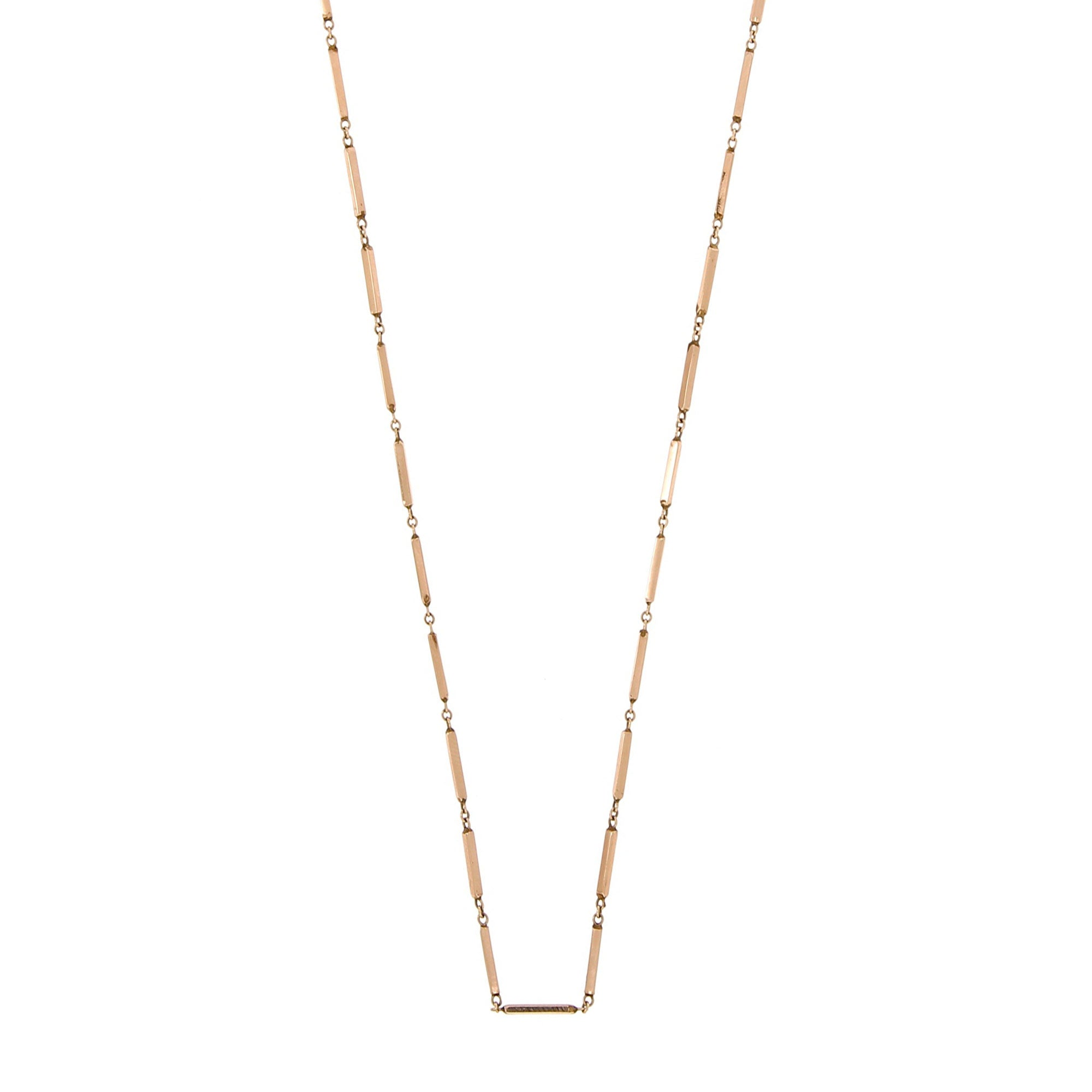 collier chaine rose femme