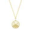 Collier Lotus Diamants Blancs