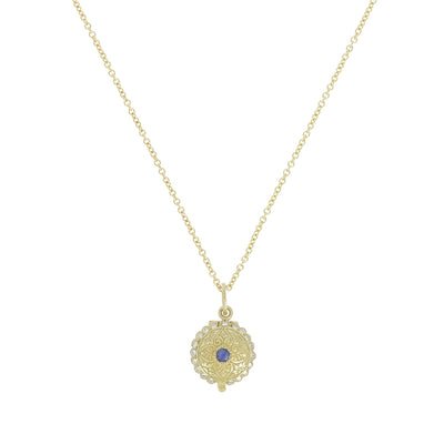 Collier Mini Gold Locket