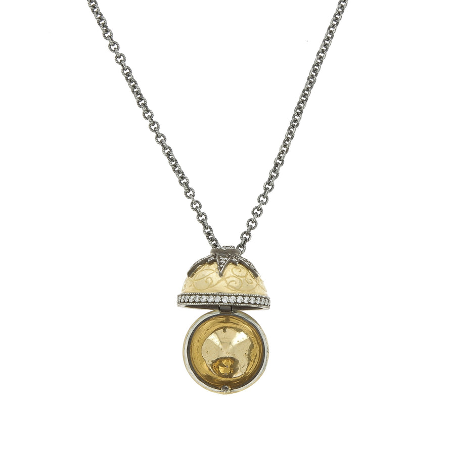 Collier Poison Ball Saphir