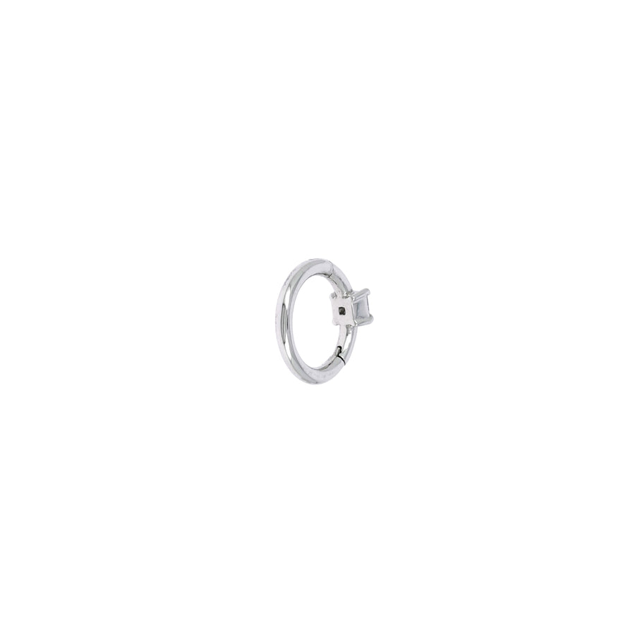 Créole 6.5mm or blanc princesse 2x2mm