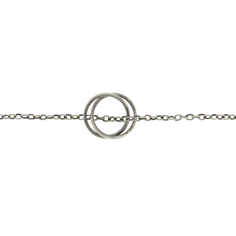 Collier Engraved Infinity