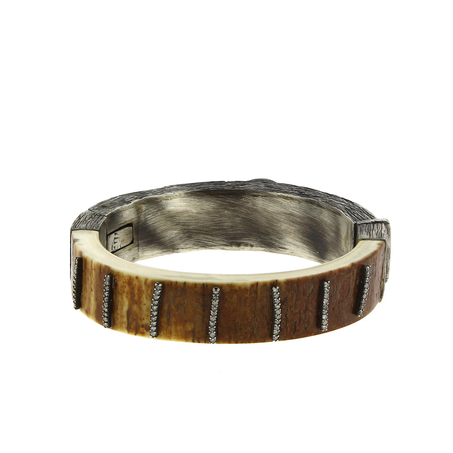 Bracelet Double sided fossil