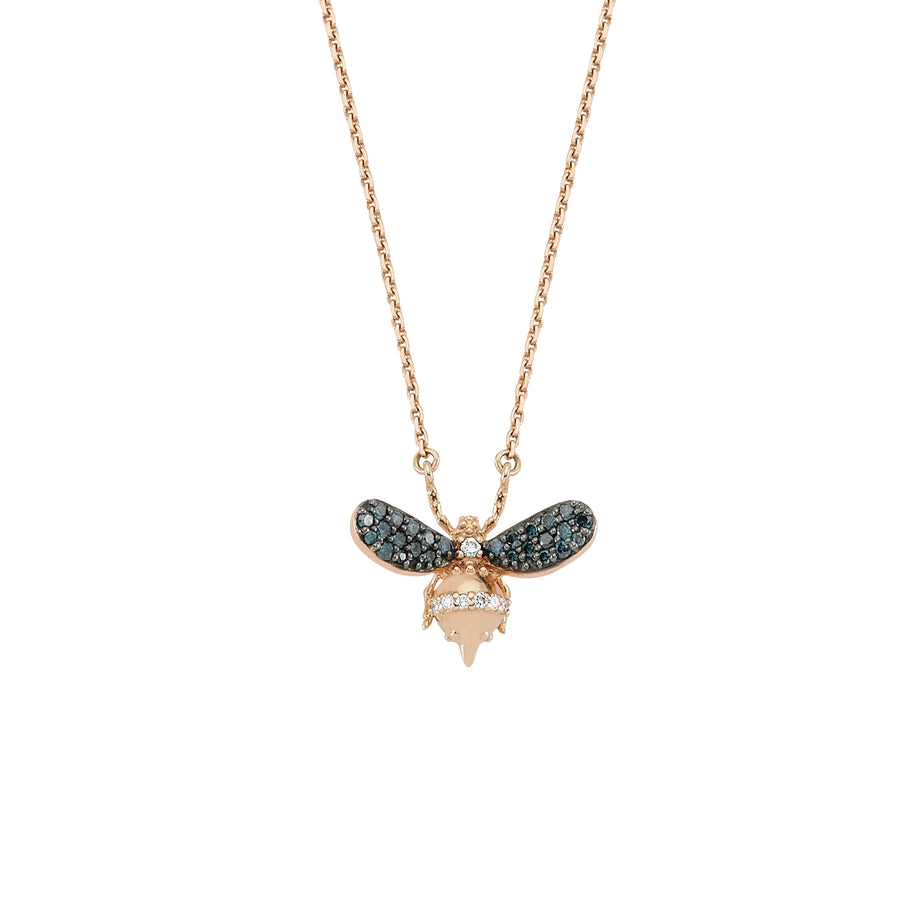 Collier Abeilles Blue Diamond