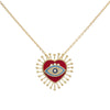Collier Eye Heart U
