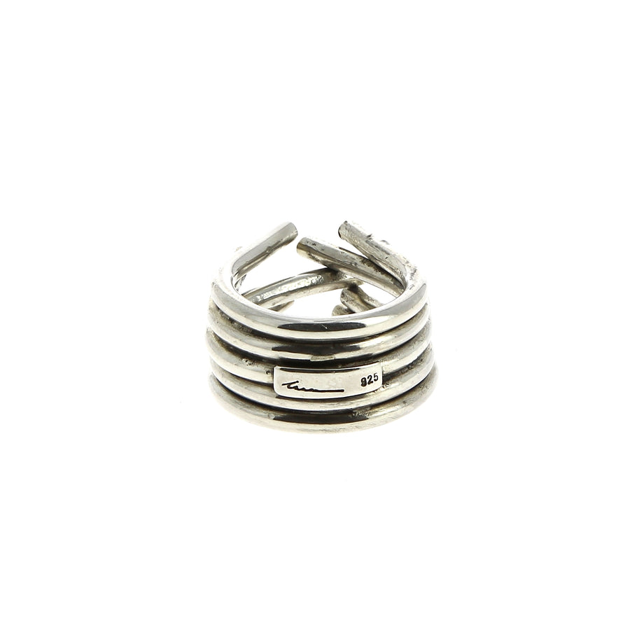 Bague Chaotic Rubis - Innan jewellery - Bagues pour femme - Mad Lords
