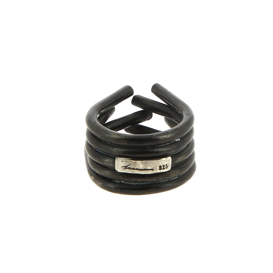 Bague Chaotic Black Finish - Innan jewellery - Bagues pour femme - Mad Lords
