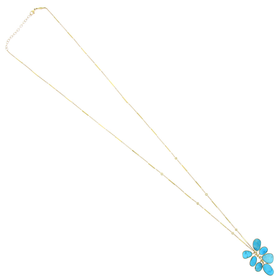 Collier Cluster Smooth Bar Dia