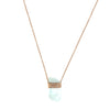 Collier aquamarine crystal - Jacquie Aiche - Colliers pour femme - Mad Lords