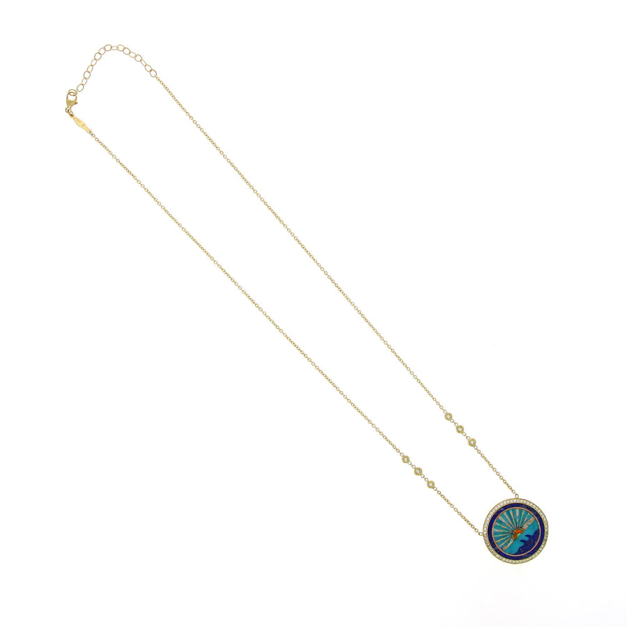 Collier Small Sunshine