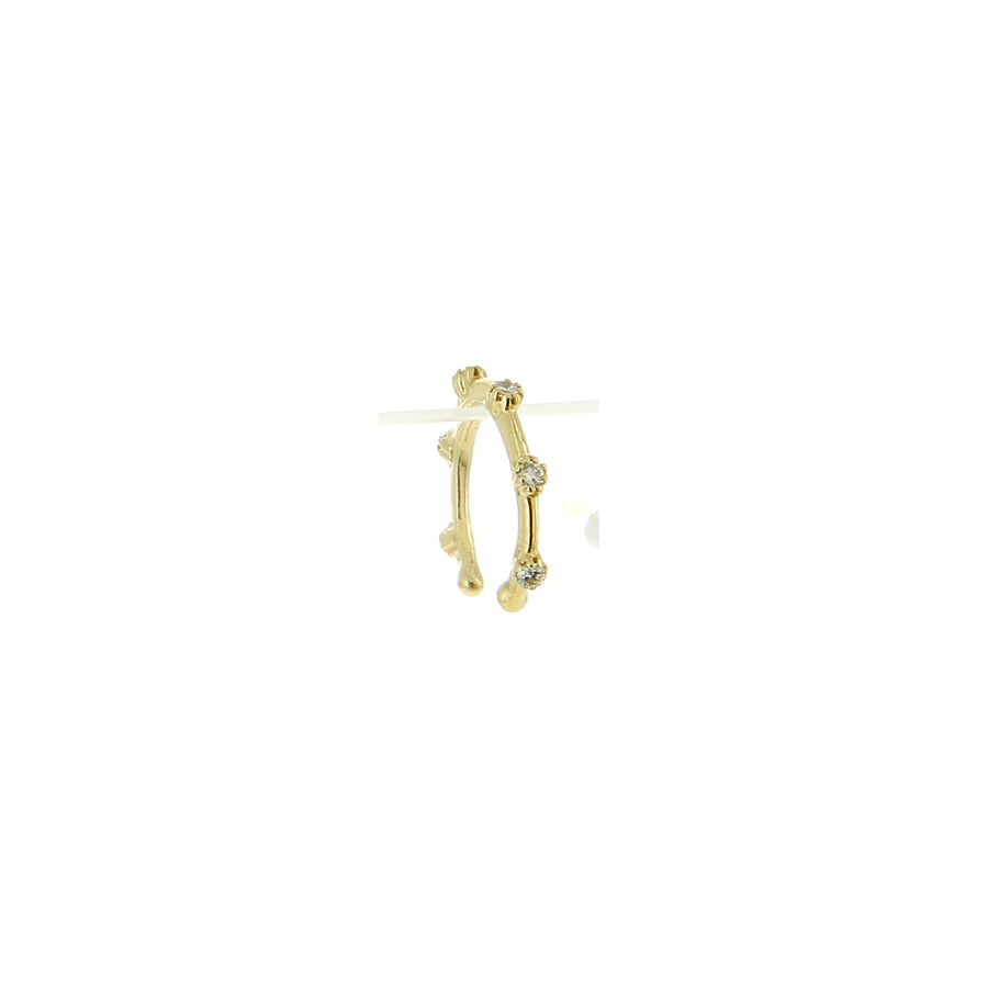 Bijou d'Oreille Single Spaced - Jacquie Aiche - Boucles d'oreille pour femme - Mad Lords