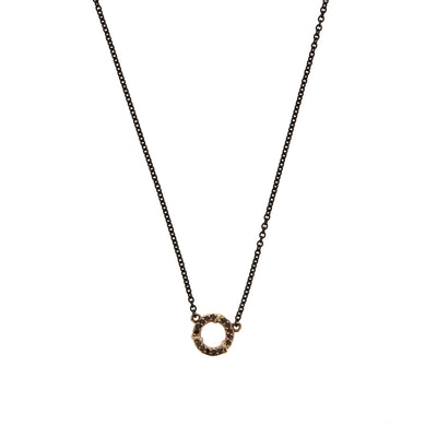 Collier Cercle Or Diamants - Karen karch - Colliers pour femme - Mad Lords