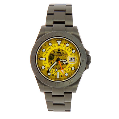 Montre Rolex Explorer II Yellow