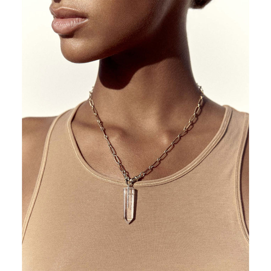 Collier cristal moon n°2