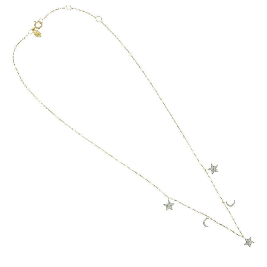 Collier Moons and Stars