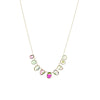 Collier Multi Tourmaline Bezel