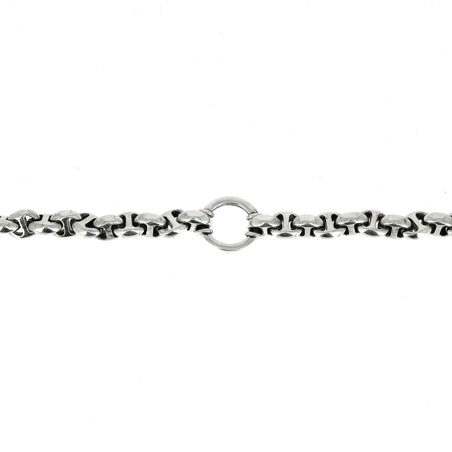 Collier Open Link 10mm avec Diamants