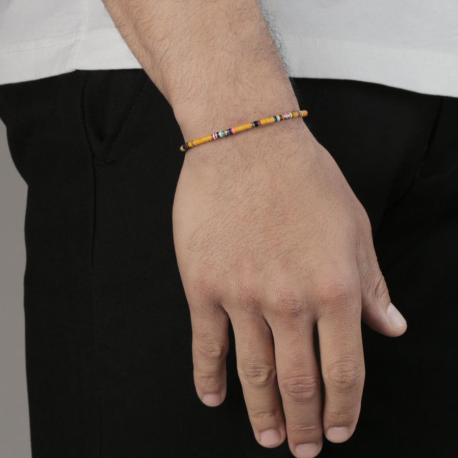 Bracelet Orange Thin African - M Cohen - Bracelets pour homme - Mad Lords