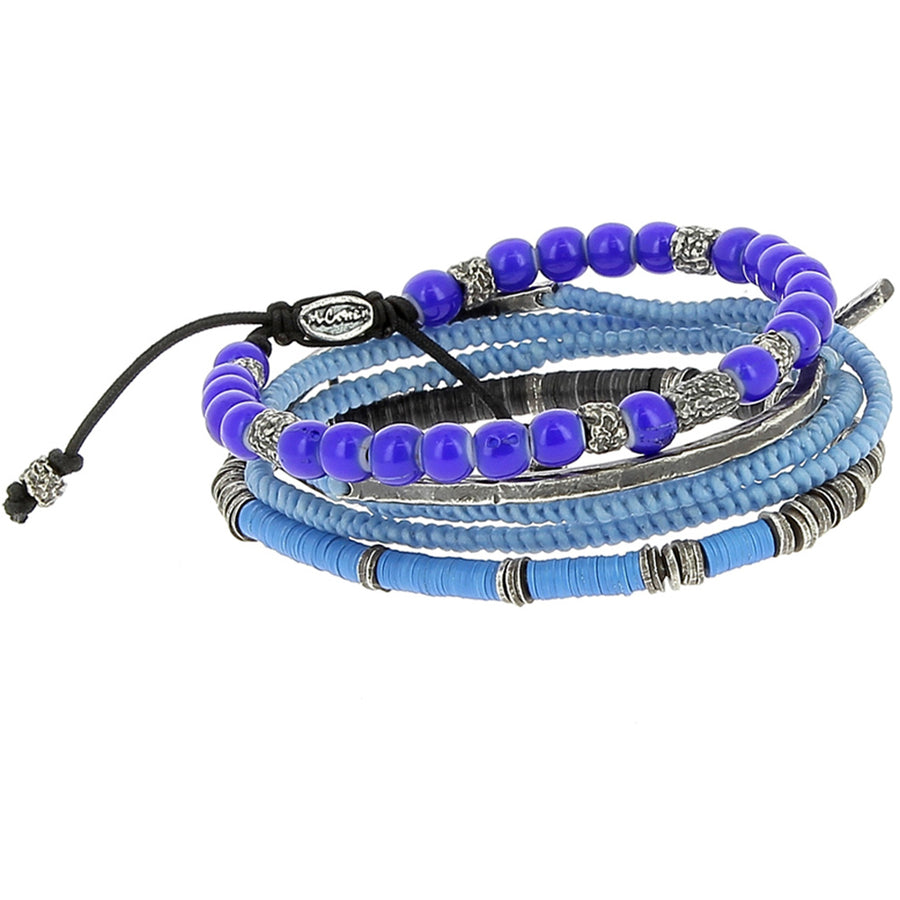 The Blue Sky Stack - M Cohen - Bracelets pour homme - Mad Lords
