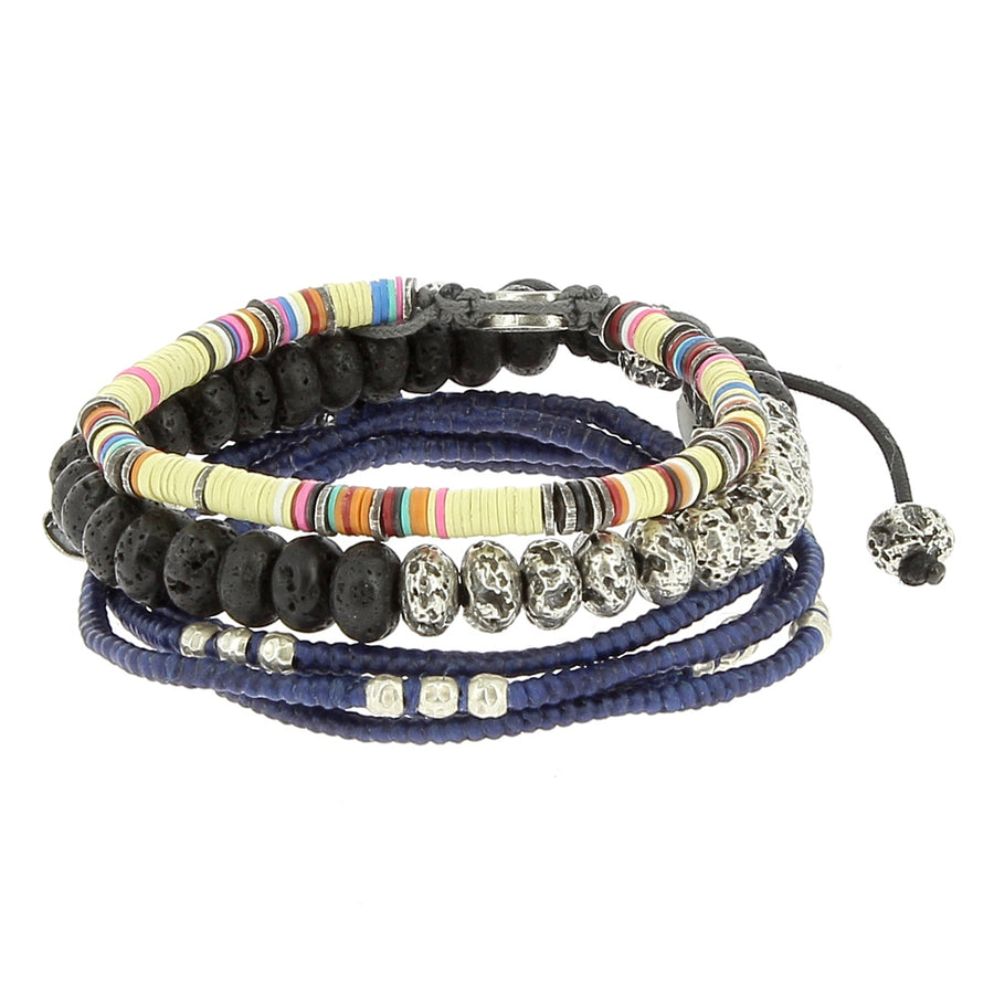 African Stack - M Cohen - Bracelets pour homme - Mad Lords
