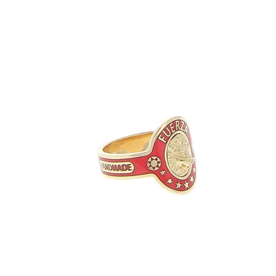 Red Strength Ring - Foundrae - Bagues pour femme - Mad Lords