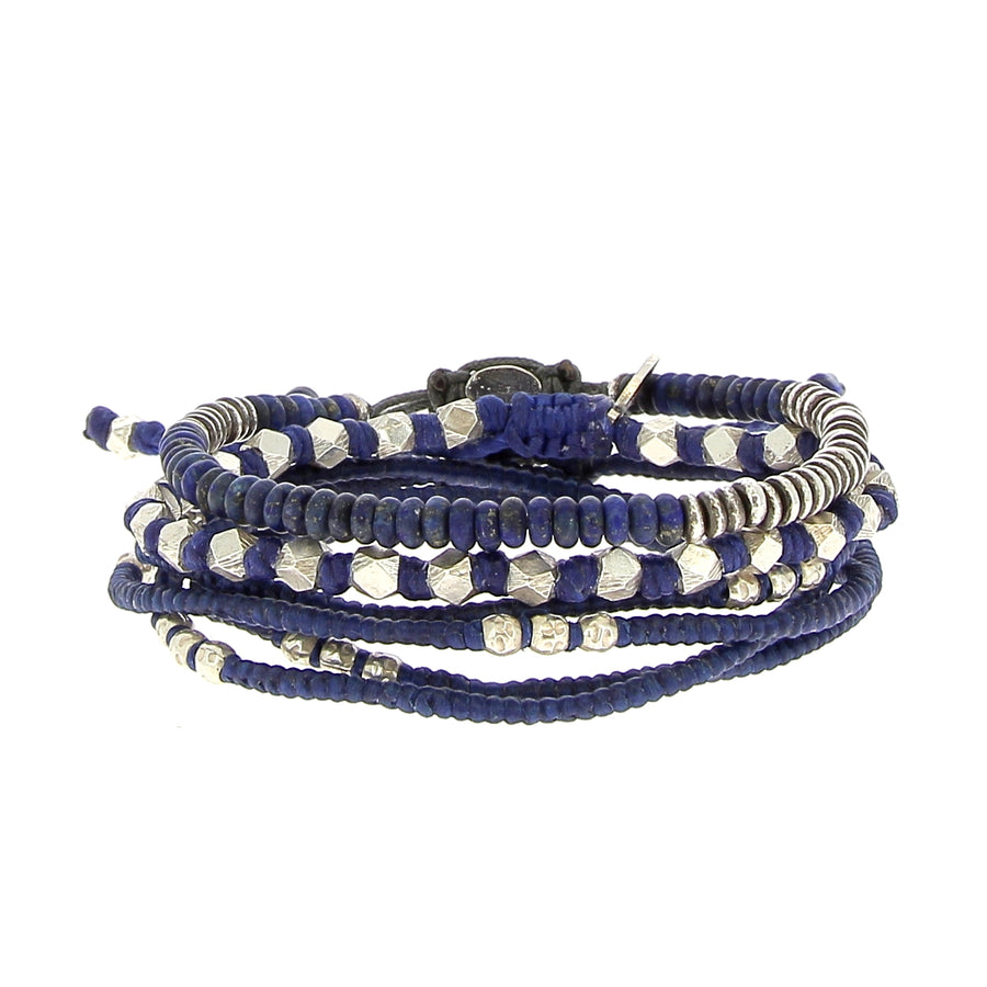 The Blue Tiger Stack - M Cohen - Bracelets pour homme - Mad Lords