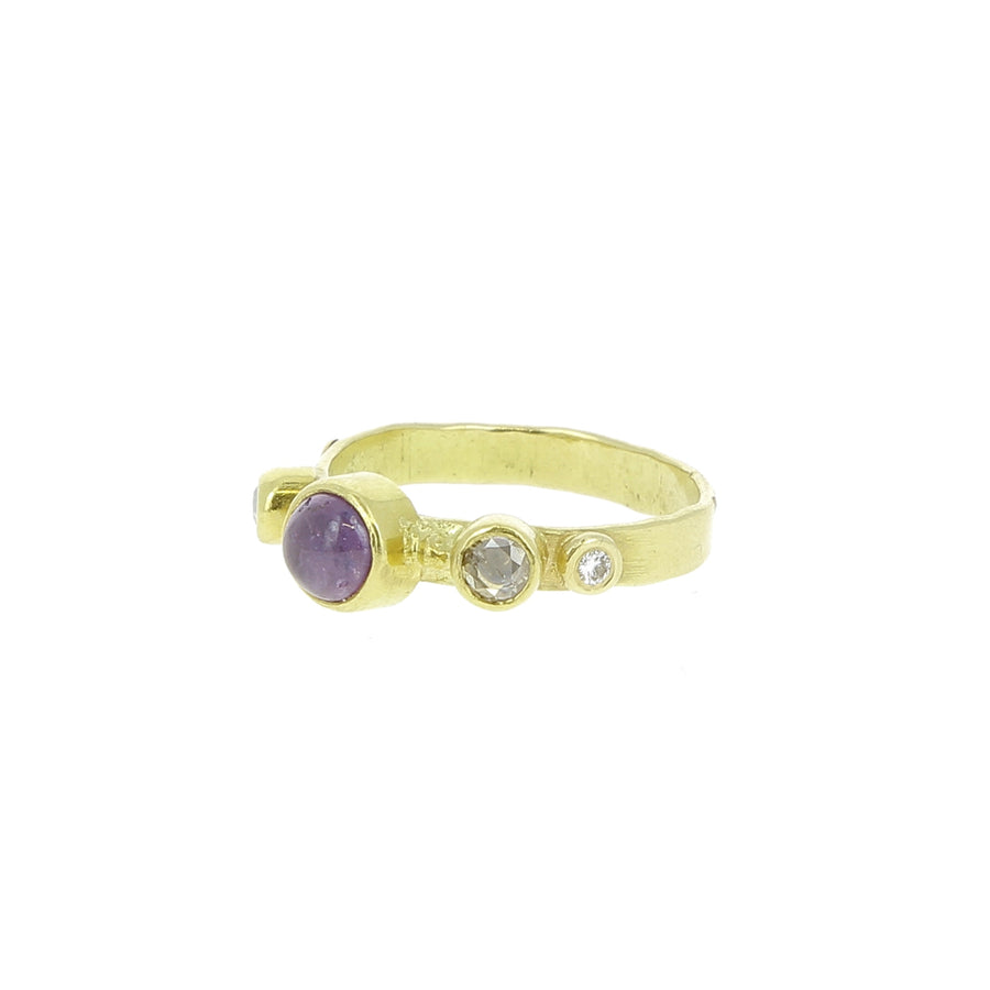 Bague Purple Diamonds