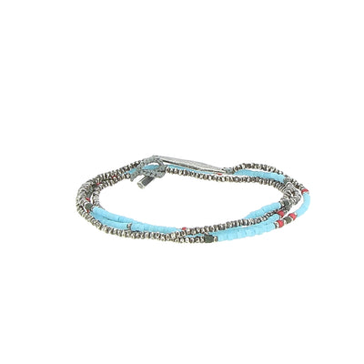 Collier Stacked Mini Bead Silver Detail - M Cohen - Colliers pour homme - Mad Lords