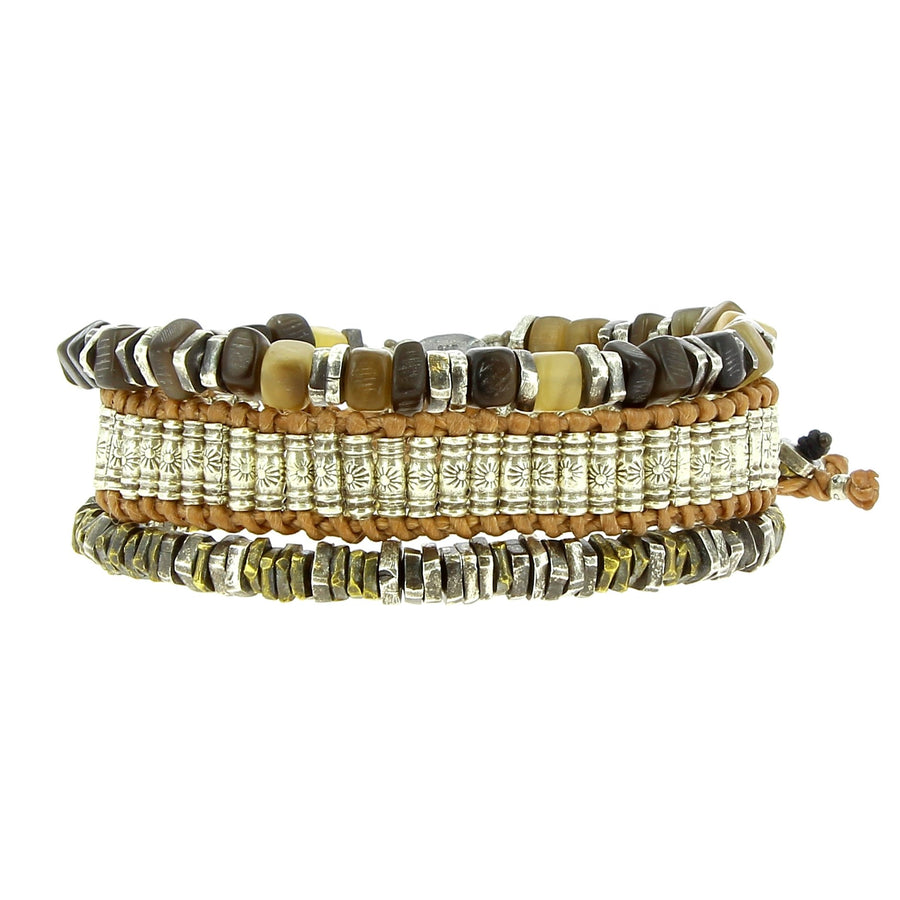 The Sand Stack - M Cohen - Bracelets pour homme - Mad Lords