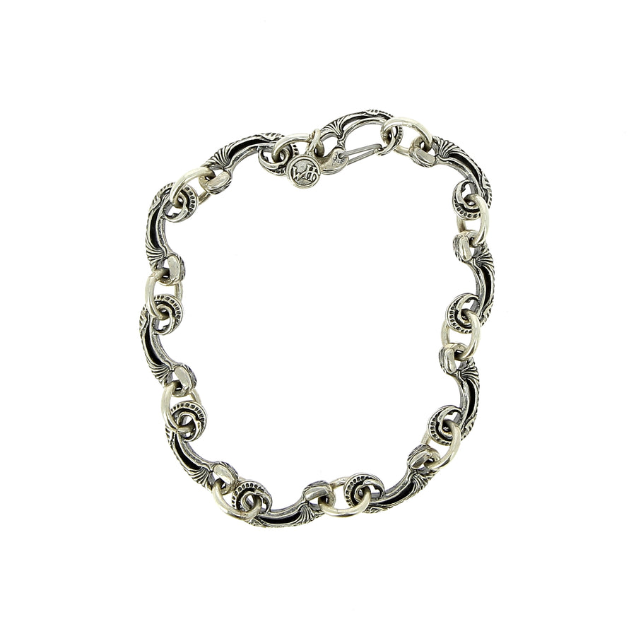Bracelet Crest Argent - William Henry - Bracelets pour homme - Mad Lords