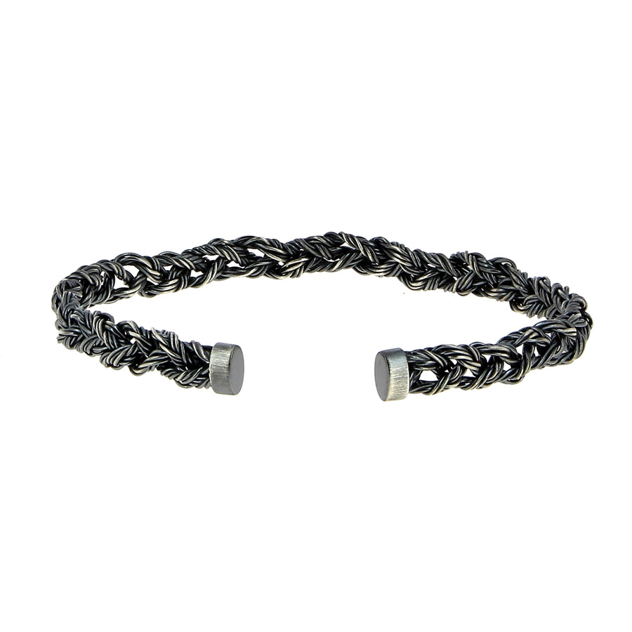 Bracelet Tressé Large - Rusty Thought - Bracelets pour homme - Mad Lords