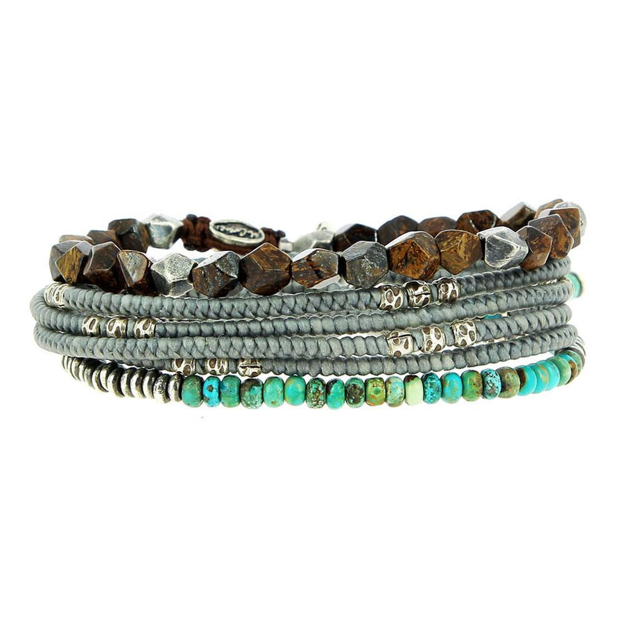 Stack Turquoise Instyle - M Cohen - Bracelets pour homme - Mad Lords