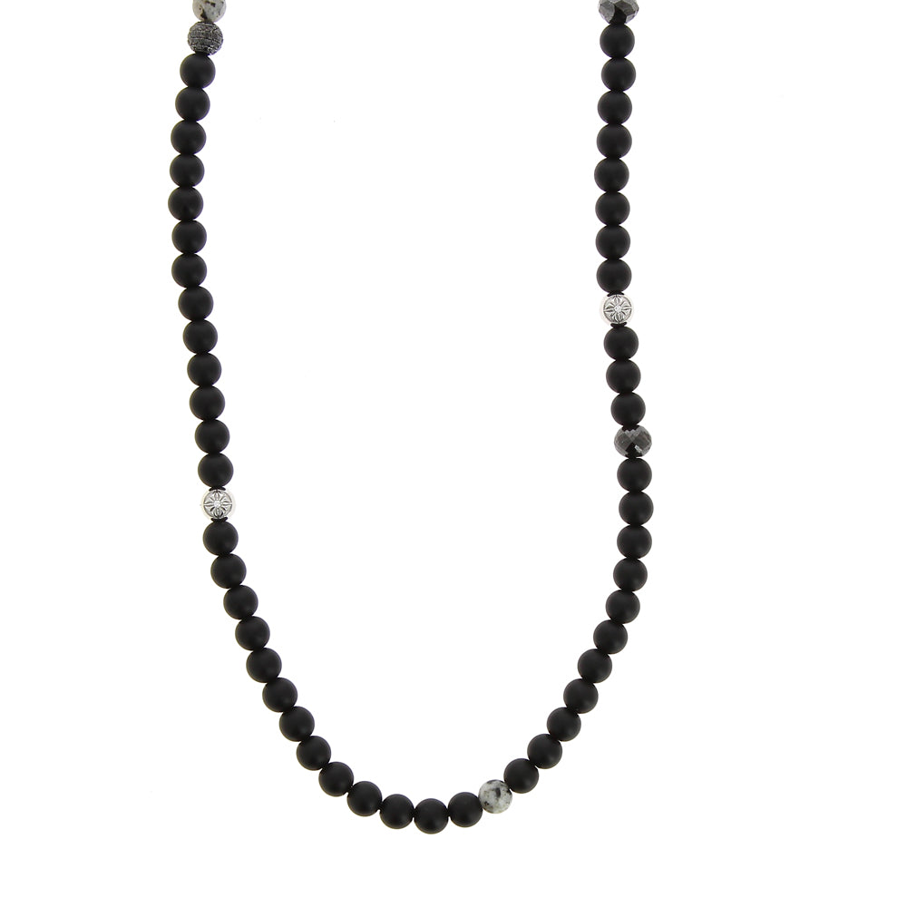 collier pur homme