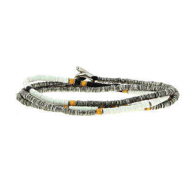 Bracelet 4 Layers White - M Cohen - Bracelets pour homme - Mad Lords