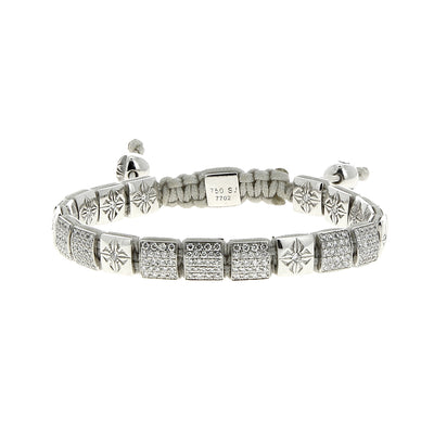Bracelet 6Mm Lock White Diamonds - Shamballa Jewels - Bracelets pour femme - Mad Lords