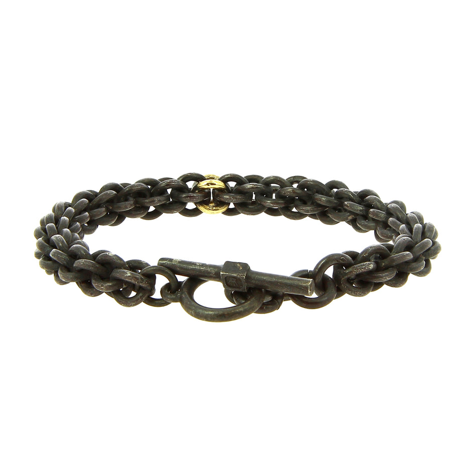 Bracelet Small Cage Link Gold