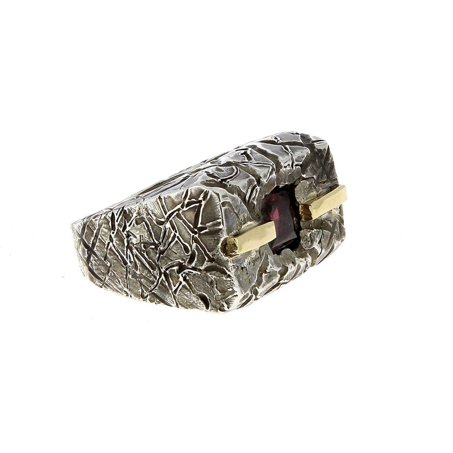 Bague Anello Argento Oro - Alberto Gallinari - Bagues pour homme - Mad Lords